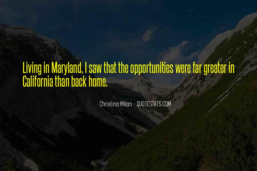 Quotes About Maryland #1769054