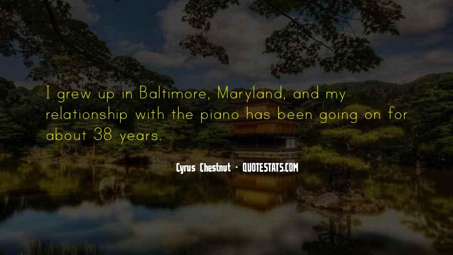Quotes About Maryland #1855172
