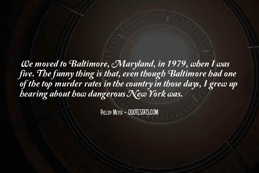 Quotes About Maryland #292801