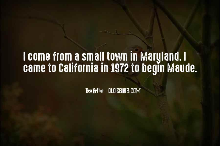 Quotes About Maryland #660541