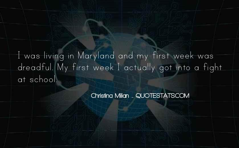 Quotes About Maryland #734611