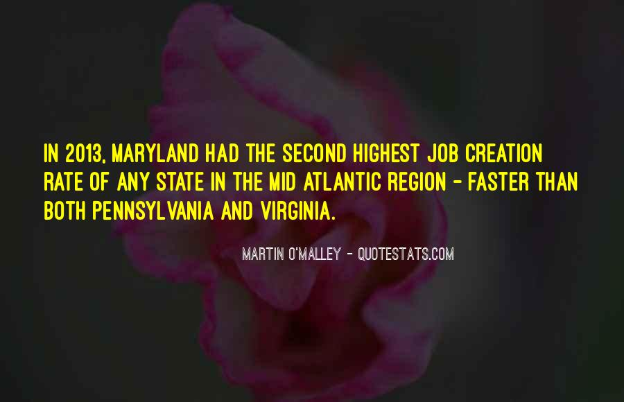 Quotes About Maryland #866744