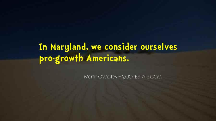 Quotes About Maryland #921860