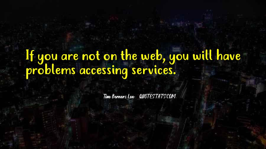 Web Services Quotes #1798133