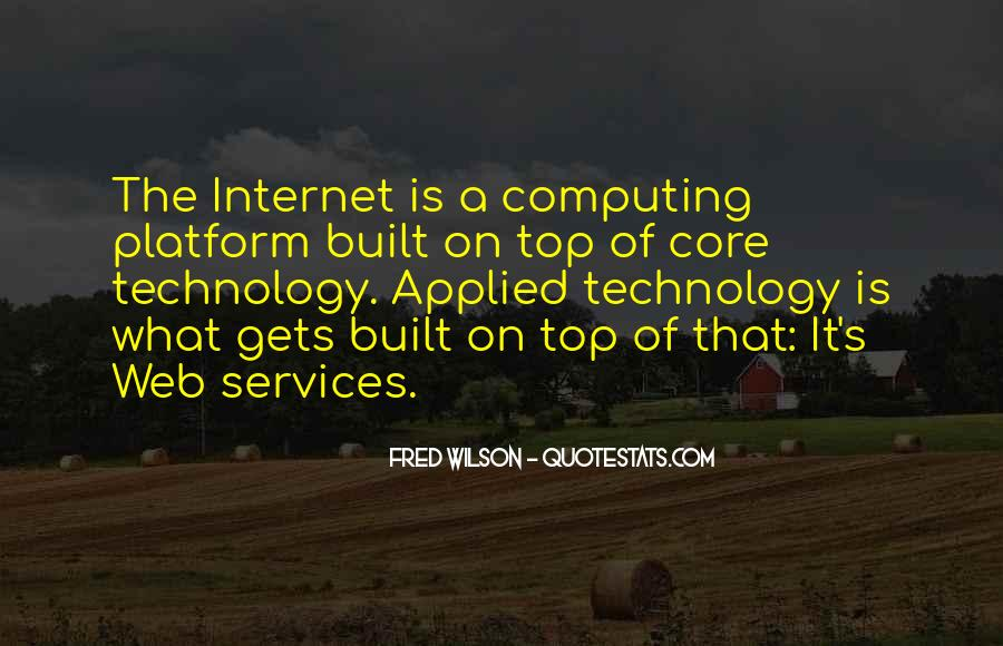 Web Services Quotes #1798701