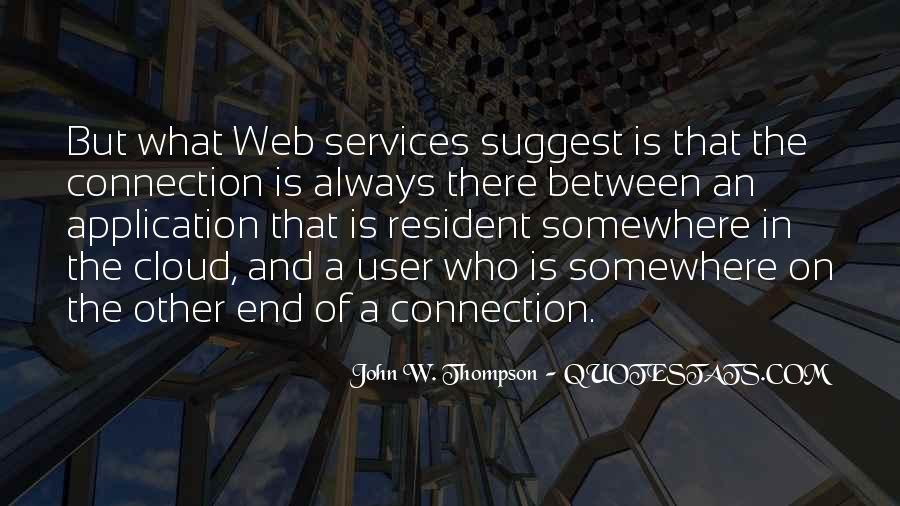Web Services Quotes #235426