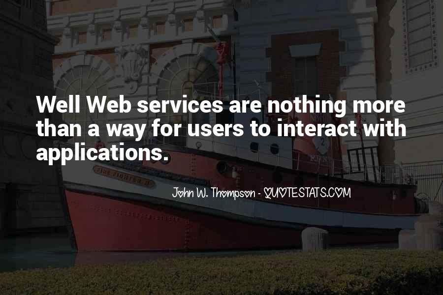 Web Services Quotes #347116