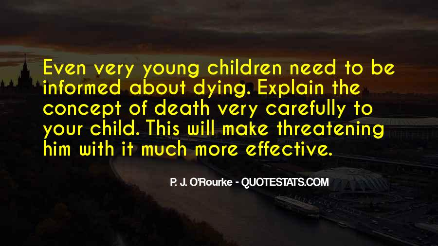 Quotes About Your Child Dying #1242790