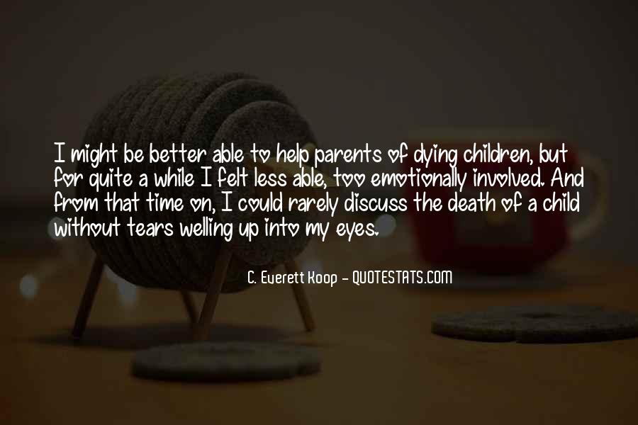 Quotes About Your Child Dying #308851