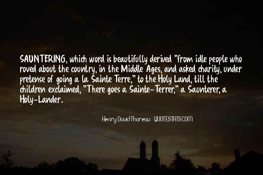 Quotes About Middle Ages #167723