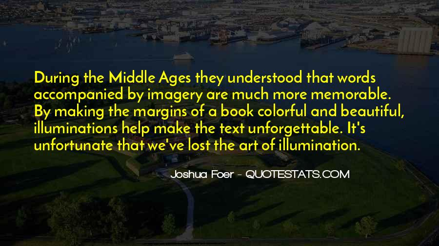 Quotes About Middle Ages #173664