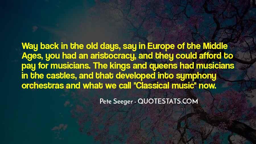 Quotes About Middle Ages #352424