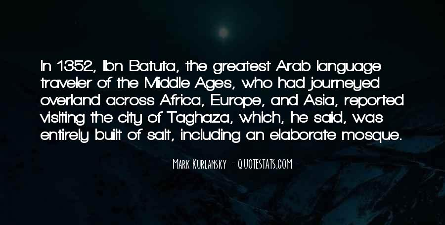 Quotes About Middle Ages #37443