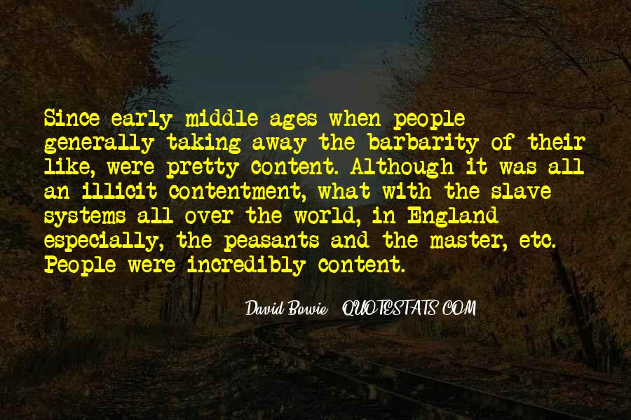Quotes About Middle Ages #415402