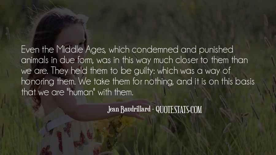 Quotes About Middle Ages #586815