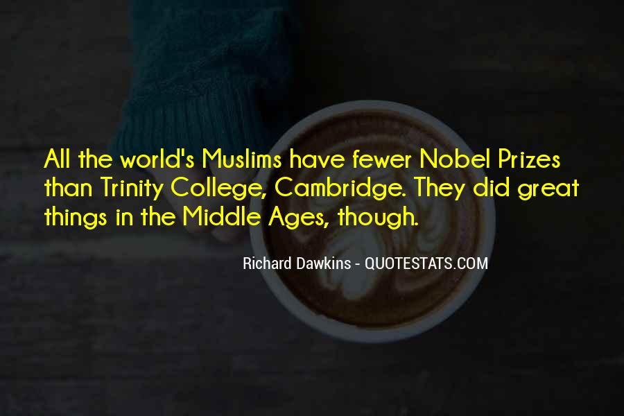Quotes About Middle Ages #71420
