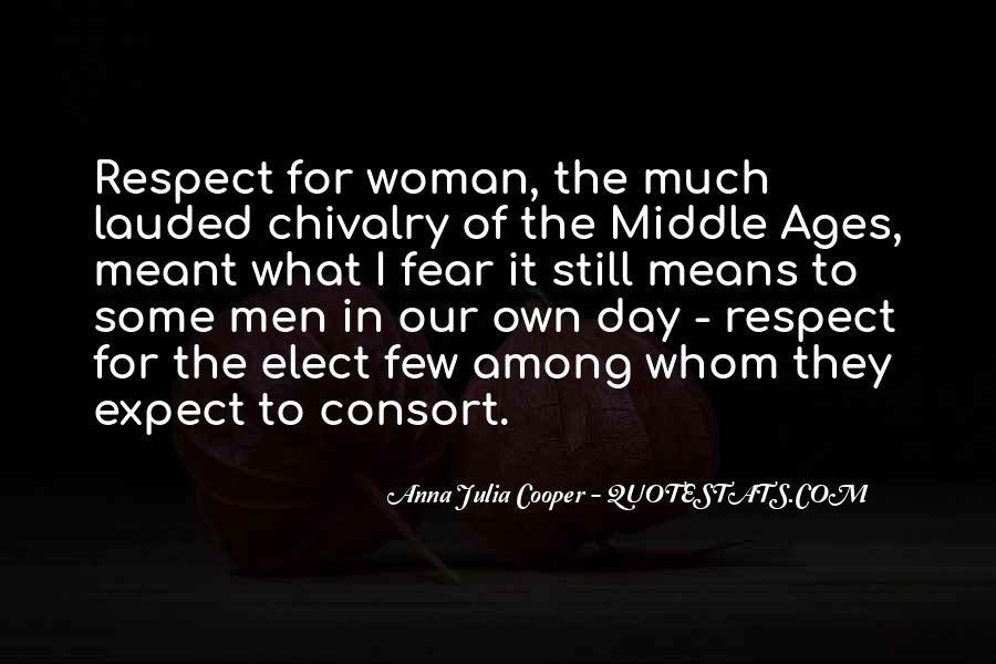 Quotes About Middle Ages #7565