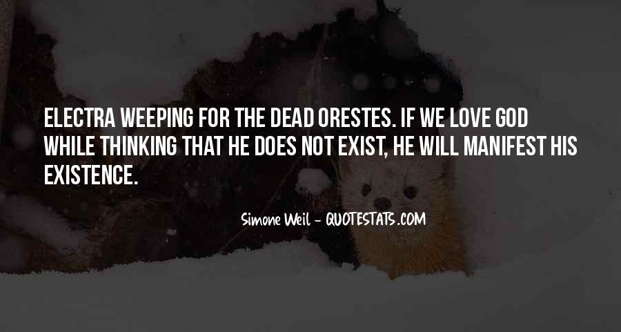 Weeping Love Quotes #1478554