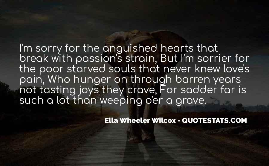 Weeping Love Quotes #1519626
