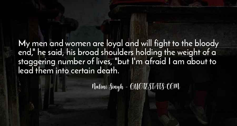Weight On My Shoulders Quotes #24723
