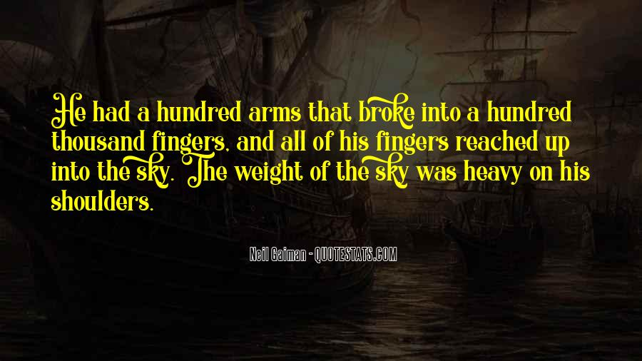 Weight On My Shoulders Quotes #310716