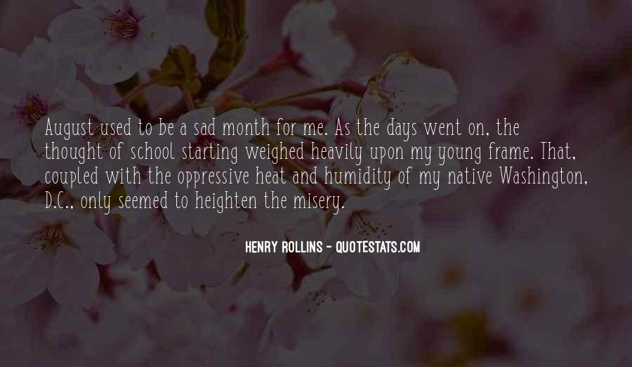 Welcome August Month Quotes #1570813