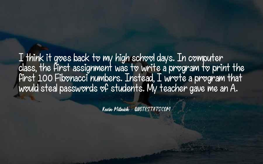 Welcome Back To School Teacher Quotes #103403