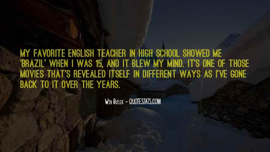 Welcome Back To School Teacher Quotes #1251056
