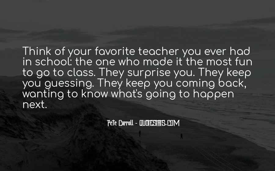 Welcome Back To School Teacher Quotes #1645293