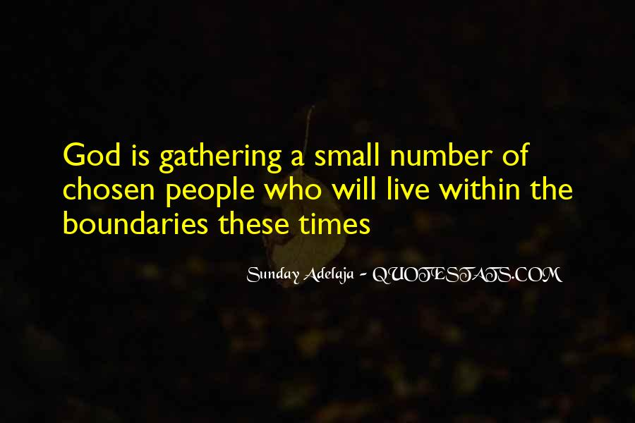 Welcome Gathering Quotes #104942