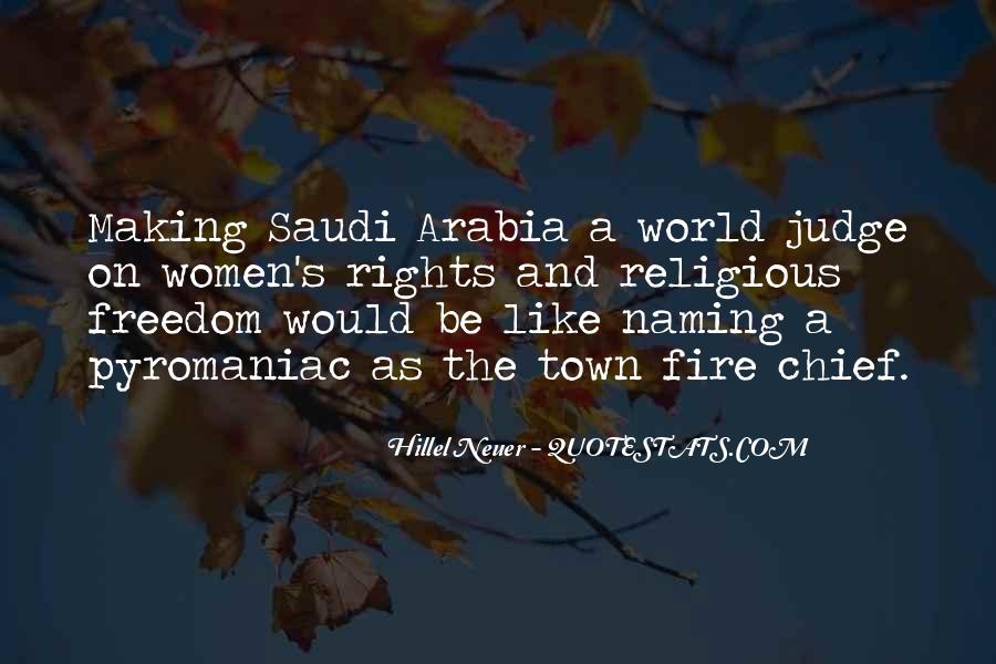 Welcome To Saudi Arabia Quotes #253697