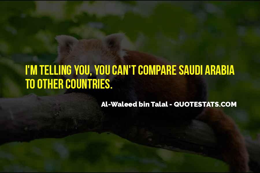 Welcome To Saudi Arabia Quotes #97244