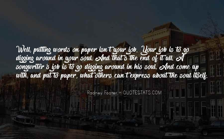 Well Digging Quotes #841858