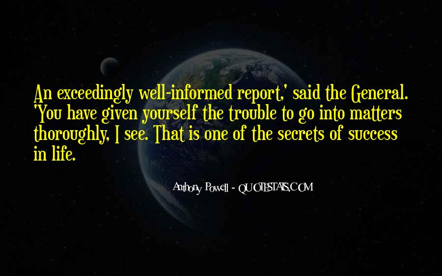 Well Informed Quotes #1181137