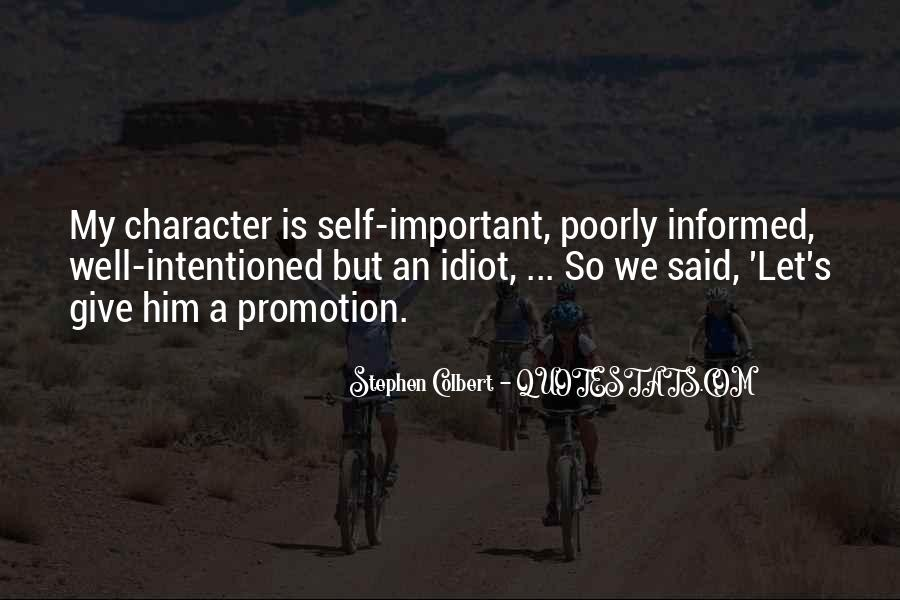 Well Informed Quotes #1267988