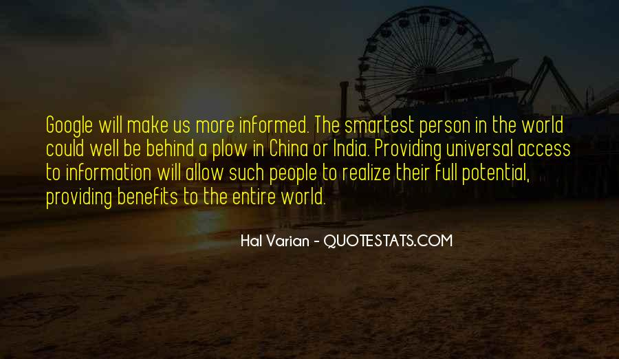 Well Informed Quotes #1558549