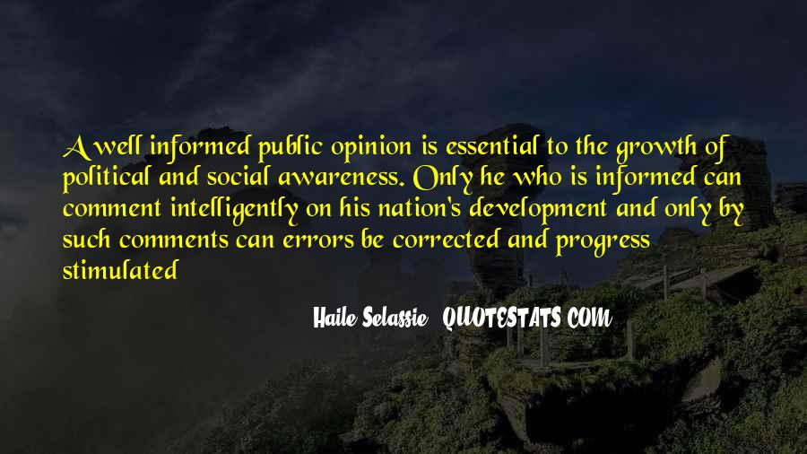 Well Informed Quotes #1560953
