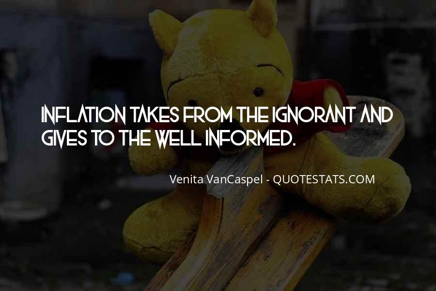 Well Informed Quotes #26444