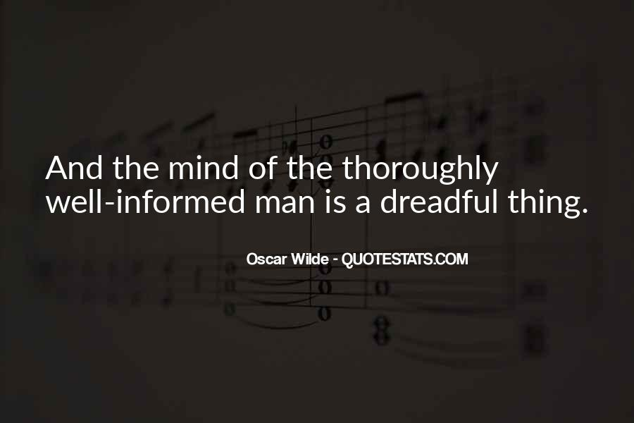 Well Informed Quotes #524802