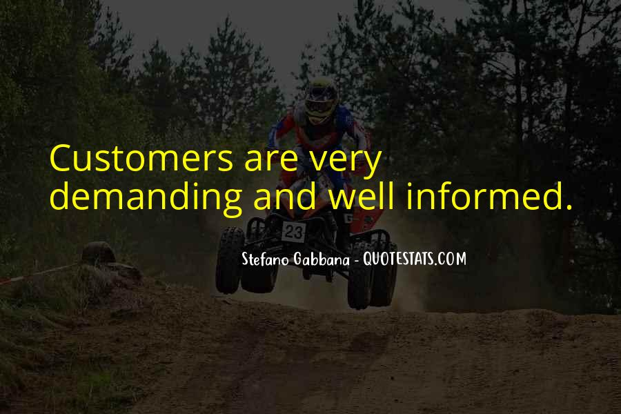 Well Informed Quotes #72809