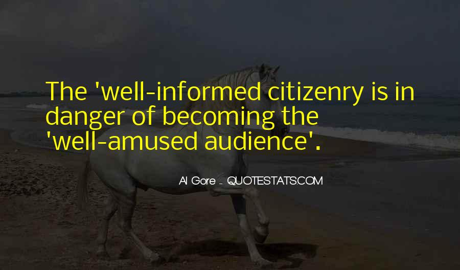 Well Informed Quotes #988547