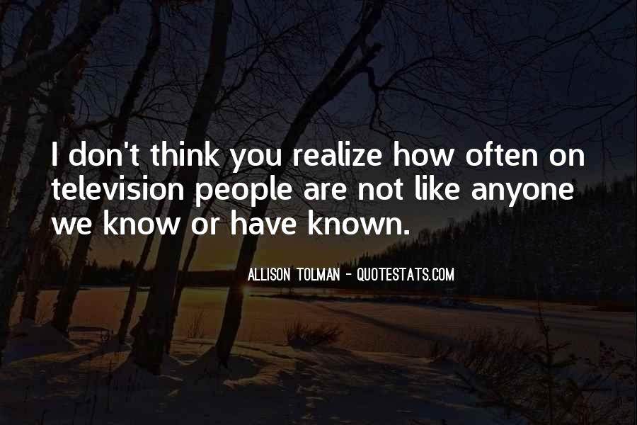 Well Known Television Quotes #296112