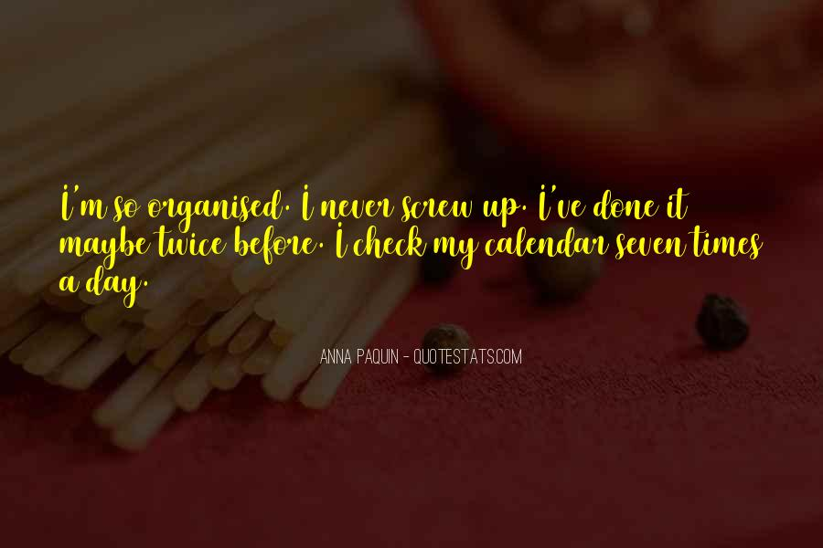 Well Organised Quotes #172280