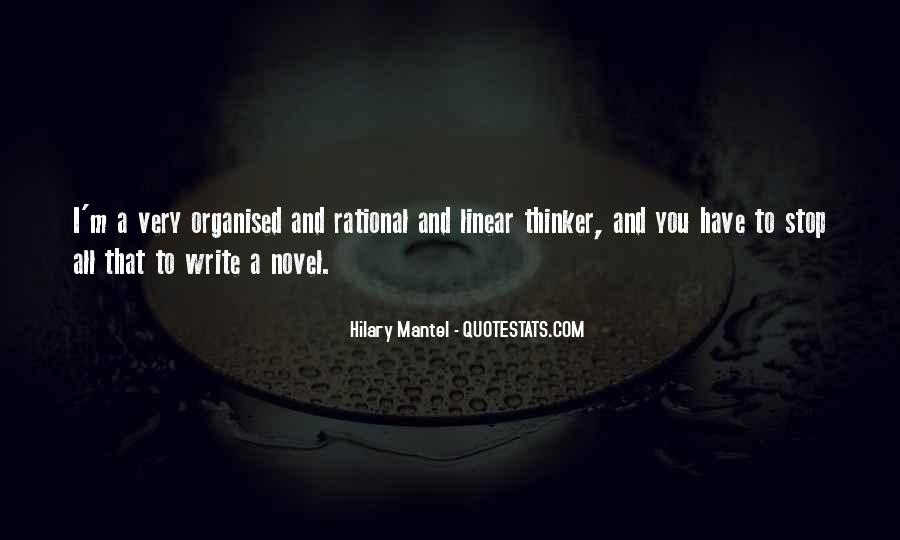 Well Organised Quotes #179049