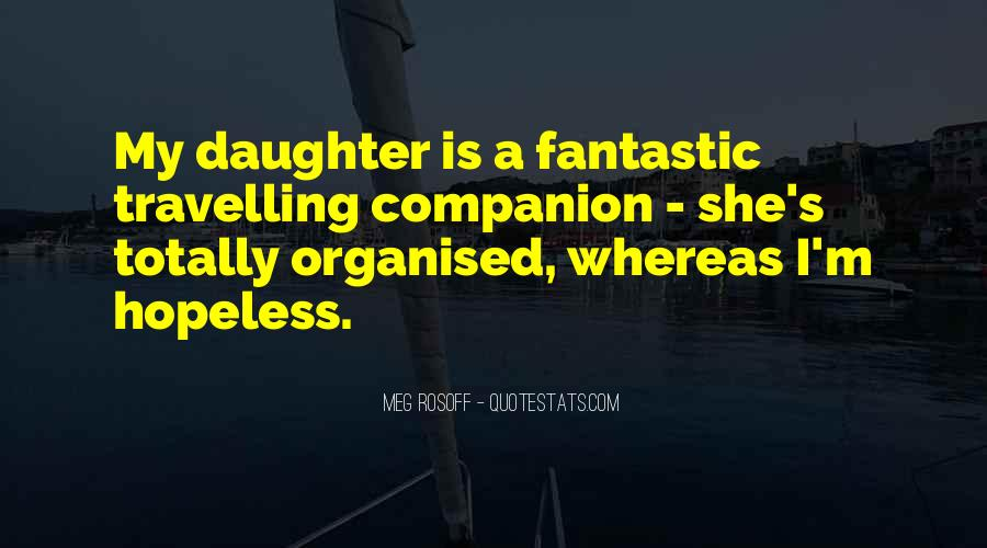 Well Organised Quotes #38558