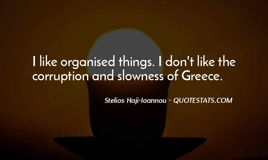 Well Organised Quotes #422653