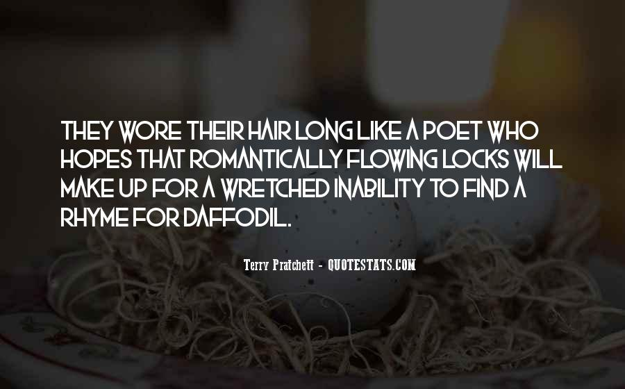 Quotes About Flowing Hair #337040
