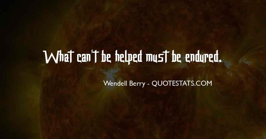 Wendell Quotes #116051