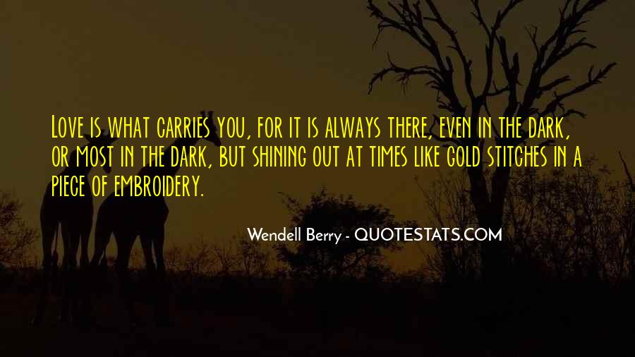 Wendell Quotes #12560
