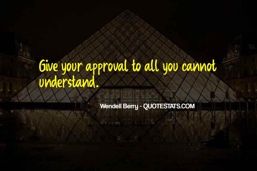 Wendell Quotes #48476